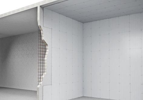 Revêtement des structures en béton avec Aestuver®