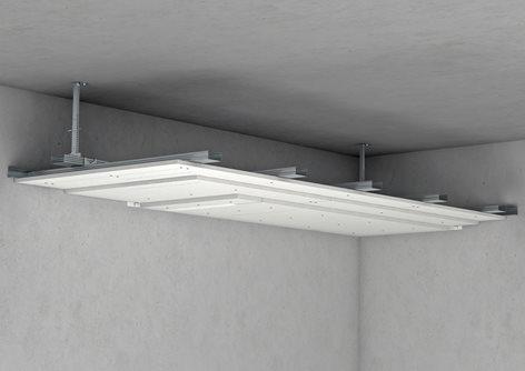 Faux-plafond avec Aestuver®